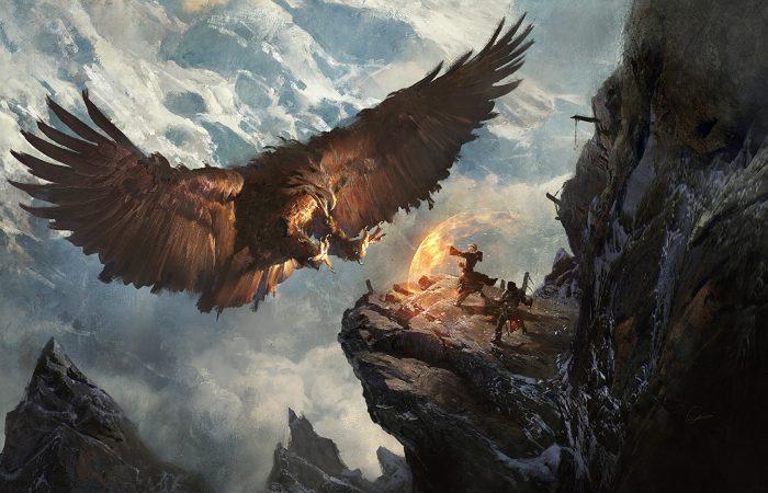 сказочная птица Рух