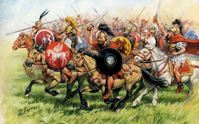 Всадники древнего мира