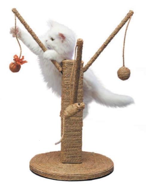 кошка и игрушки